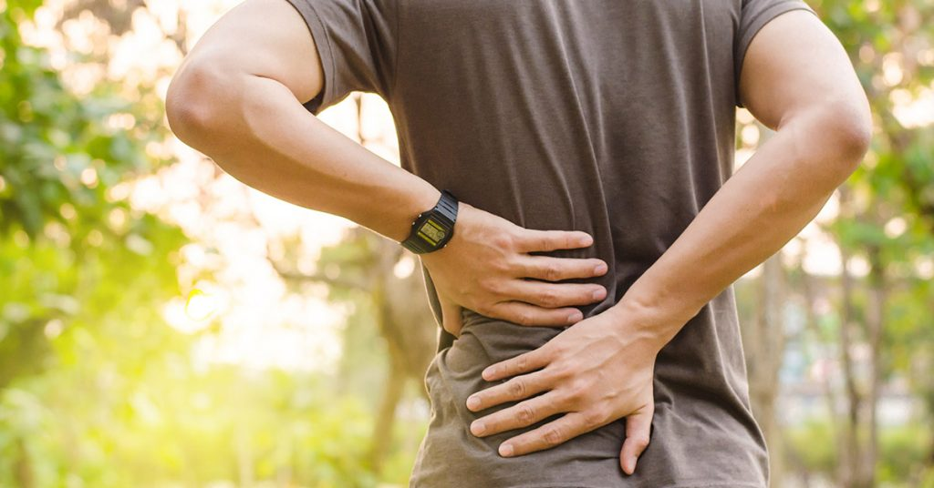 Back Pain Contact Us Banner