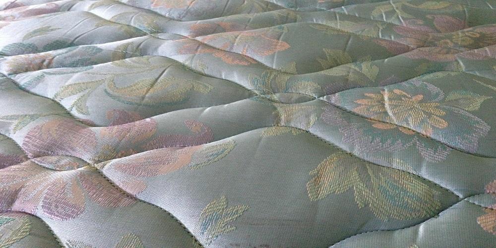 Close up of mattress